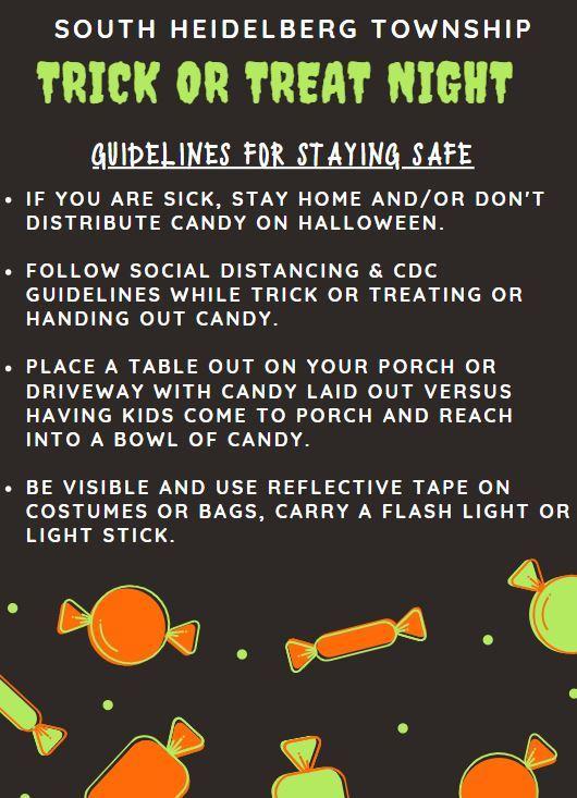 Halloween Guidelines 2020